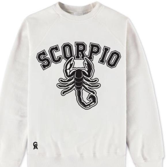 ffa7cf68c1d Good American Scorpio Zodiac Sweatshirt (FLAW)